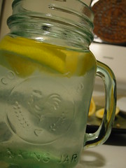 i love lemon water