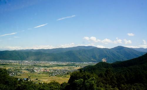 leaving togura towards matsumoto