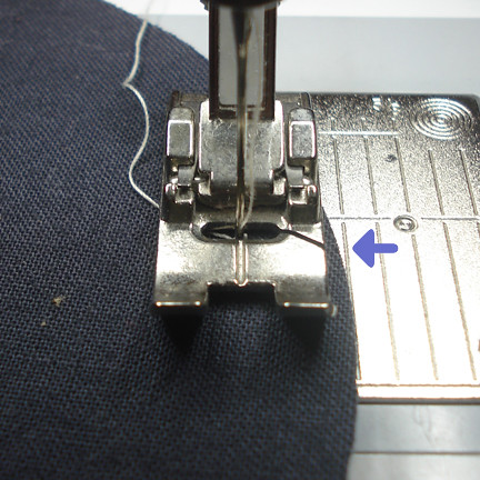 bad with presser foot