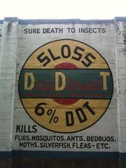 Sloss DDT advert