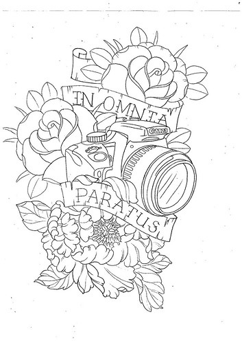 Sketch from Erin Chance at Sacred Tattoo