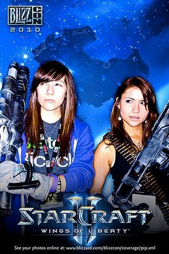 Starcraft Chicks