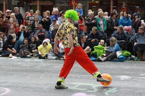 Kicking Clown