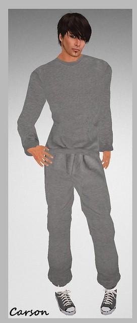 Maschienenwerk JOGGING_PANT darker grey Grey Sweatshirt
