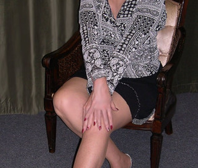 Hot Mature Women Clothed Recent Interesting Random  C B Me In Black Clingy Short Skirt With Stones Reposted For New Fans