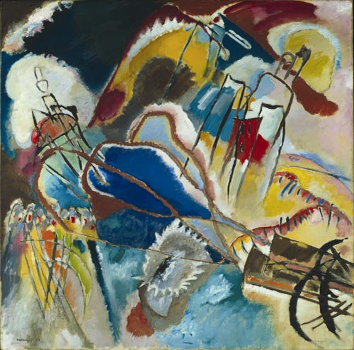 Kandinsky Improvisation 3 Cannons