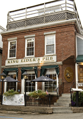 King Eider's Pub in Damariscotta.