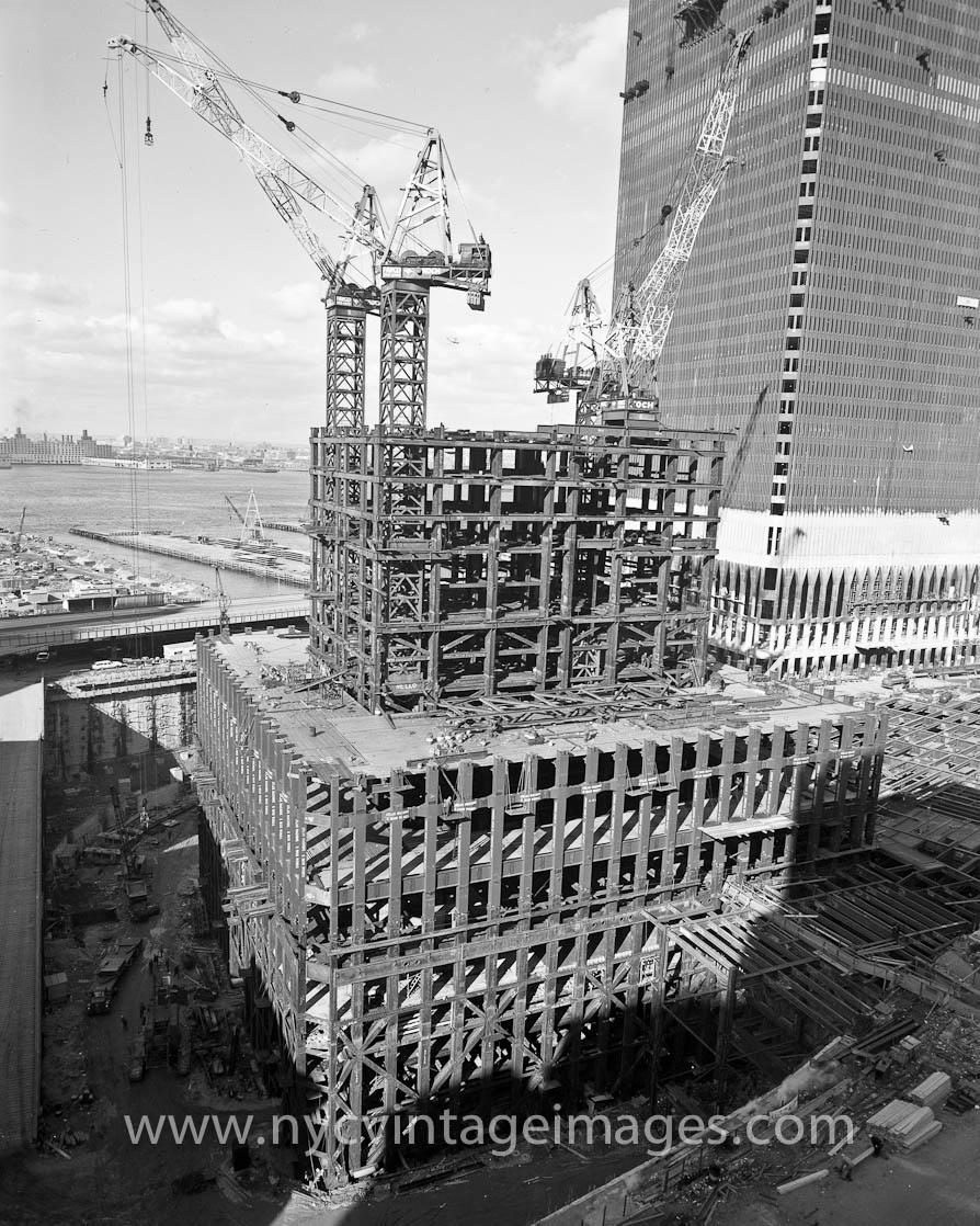 huge steel structure