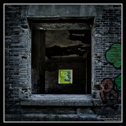 Abandoned House Search: Window in a window