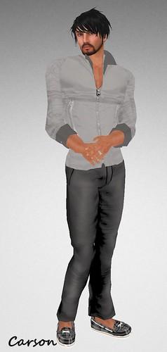 MHOH4 # 35 - Wilson's Designs for Men Grey Jacket and Pants