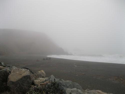 Mori Point in September Fog