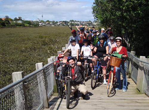 Happy Boardwalk Riders - Front
