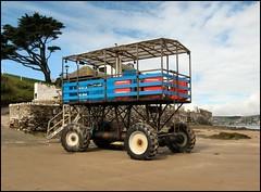 Sea Tractor, Burgh Island, Devon
