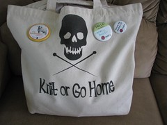 My knitting bag