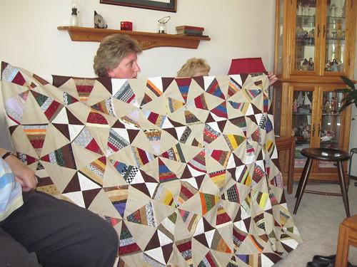 Pat's Jeanne quilt