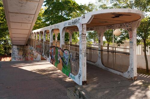 Paso elevado de la estación de Alcalá (II)