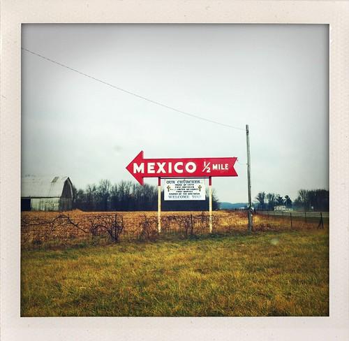 Mexico, 1/2 mile
