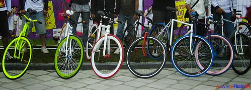 deretan model sepeda pixie