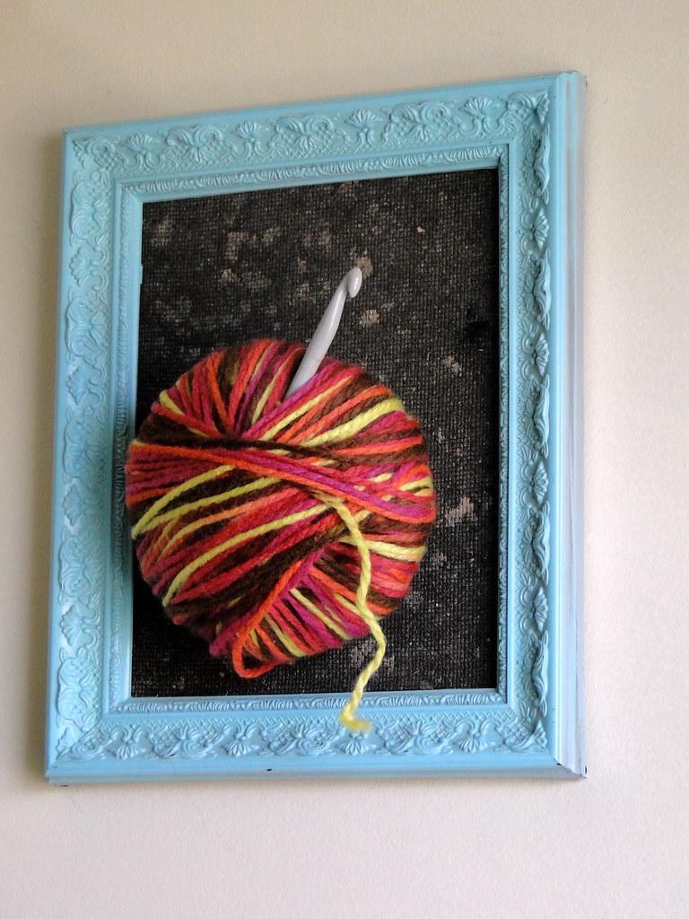 framed yarn