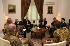 Afghanistan: il sottosegretario alla Difesa in visita il quartier generale dell'Isaf