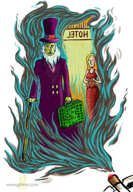 La Petite Femme aux Cigarettes : roman de Florian Houdart illustré par Gilderic