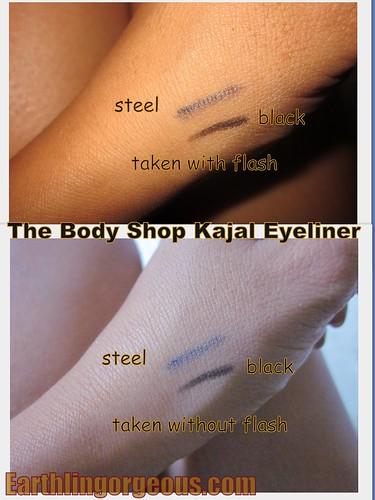 Kajal Eyeliner Swatches