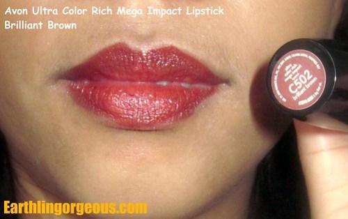 UCR Mega Impact Lipstick Brilliant Brown