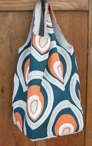 Market bag in orange
