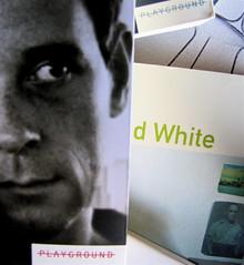 Edmund White, Ragazzo di città, Playground 2010, Graphic Designer: Federico Borghi , alla cop.: [ritr. fotog. b/n di E. W., © e anno non indicati] frontespizio (part.), 7