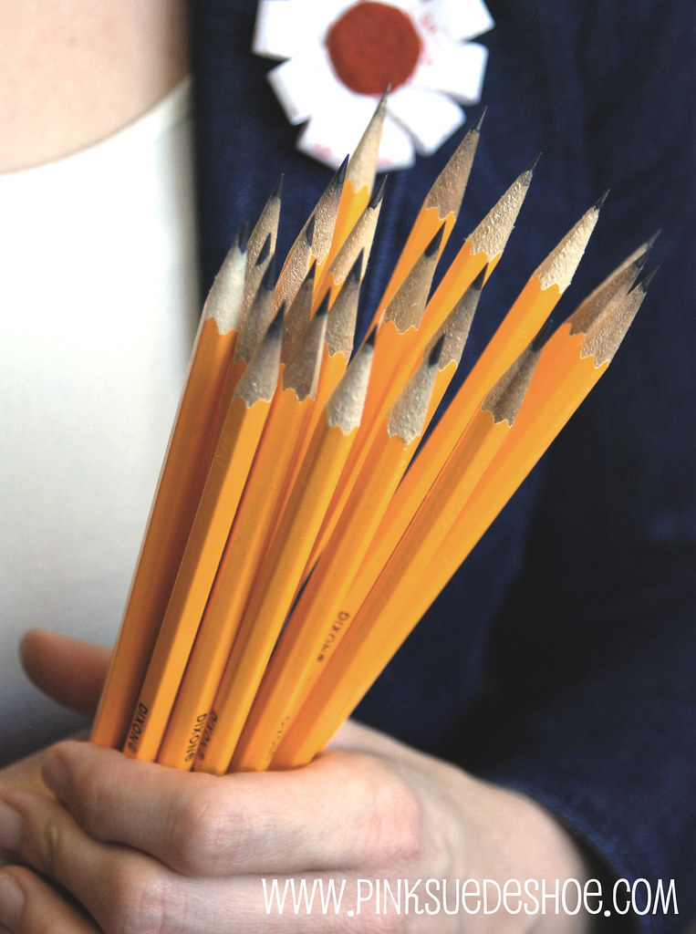 Bouquet of Sharpened Pencils