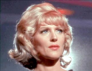 Image result for star trek 1966 Majel Barrett as Nurse Chapel