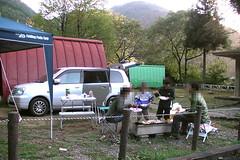 麻那姫湖青少年旅行村でBBQ