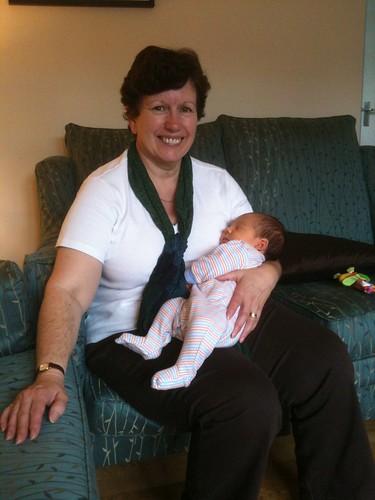 Alex with Grandma