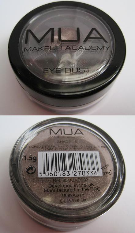 MUA Eye Dust Shade 5 -1
