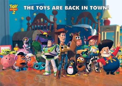 Maxi-Posters-Toy-Story-2---Cast-71613