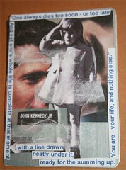 Remembrance ATC card for FB group-JFK, Jr.