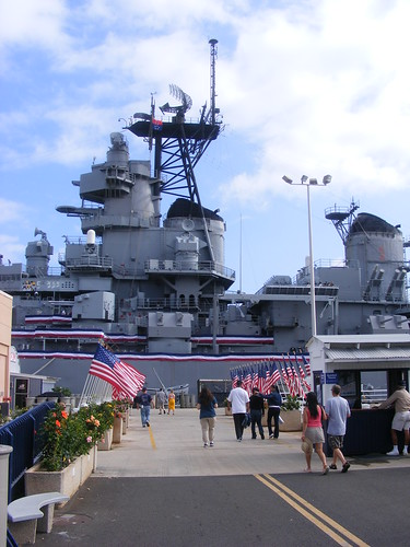 Picture from the USS Missouri