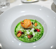 "Chef's 4th Course: New Bedford Sea Scallop ""Poelee"""