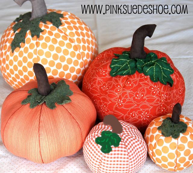 Fall Pumpkins Tutorial | pinksuedeshoe
