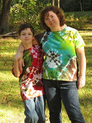 Me & son #1 in our new shirts