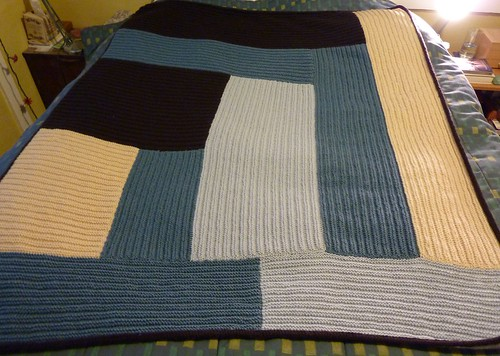Modern Log Cabin Blanket