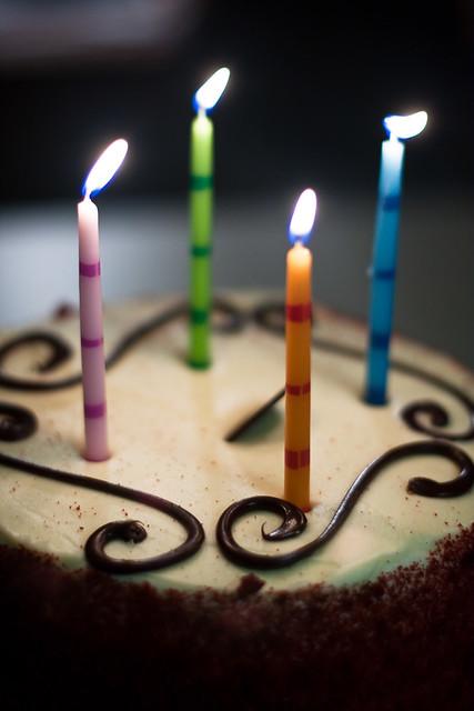 {323/365} birthday cake
