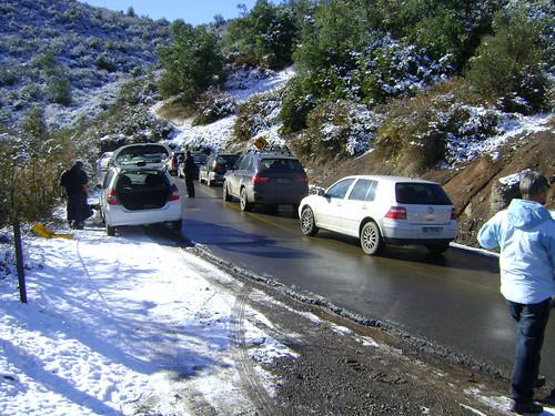 Estrada a Valle Nevado @ Chile (2010)