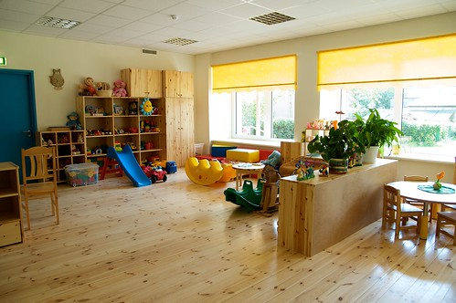 Refurbished with passive house components, kindergarten in Estonia Valga