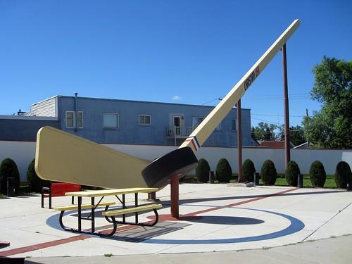 world's biggest hockey stick