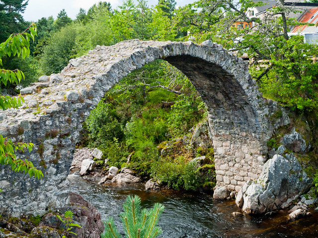 The bridge at Carrbridge