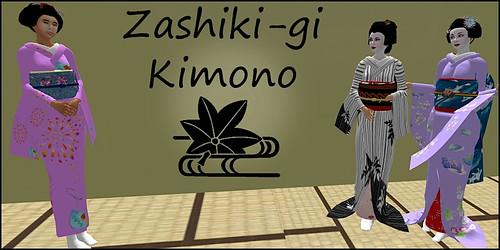 Zashiki-gi - - Around The World Designer
