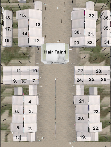 Hair Fair 1 Map