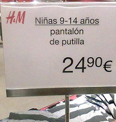 H&M más alto pero no más claro