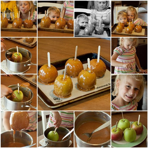 Caramel Apples!